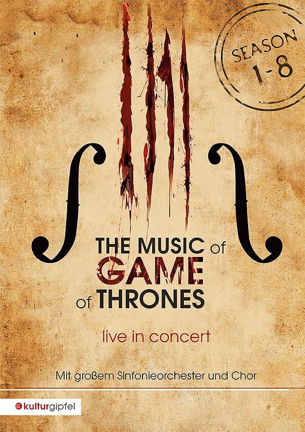 Konzertplakat Game of Thornes