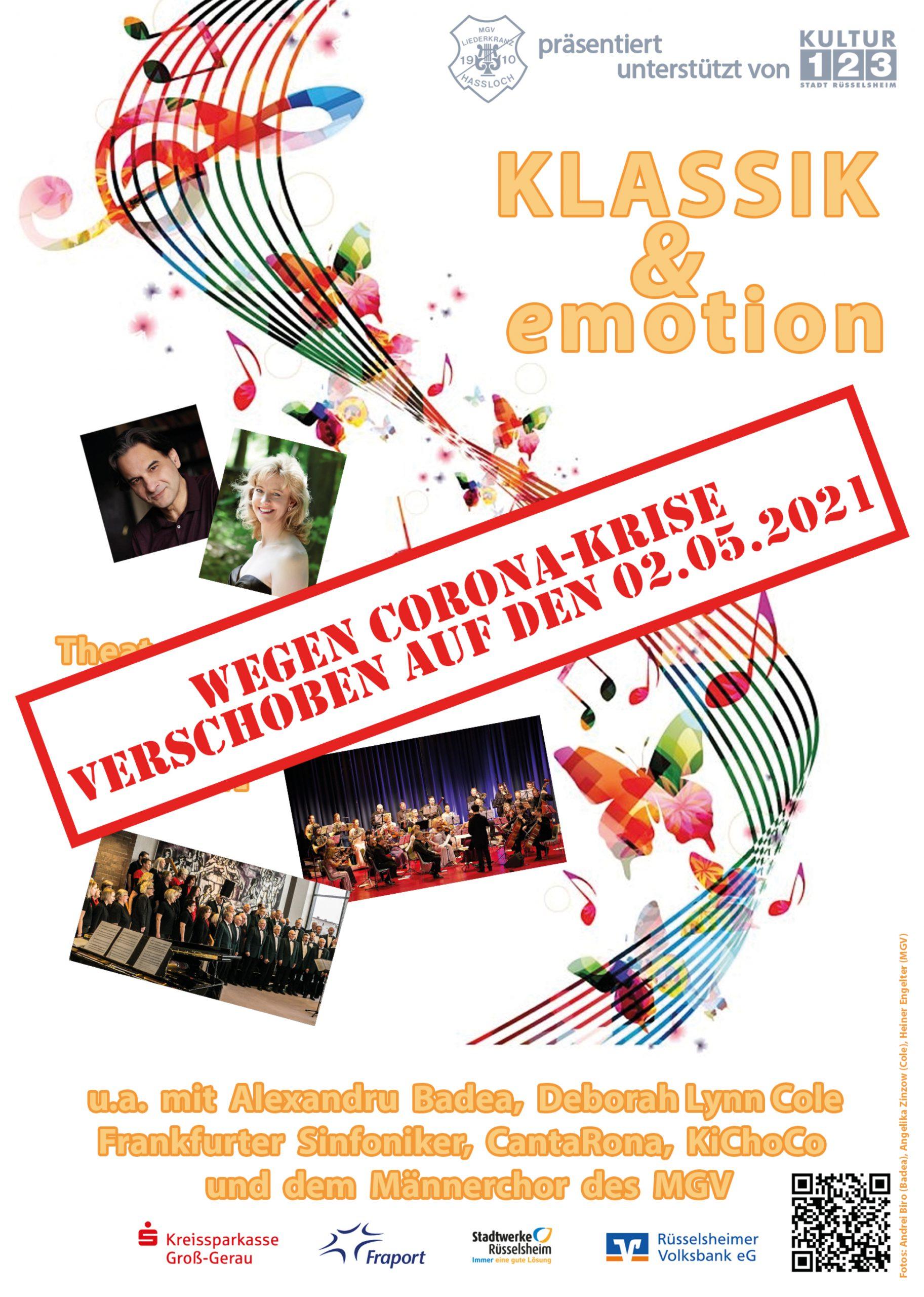 Konzertplakat Klassik & emotion